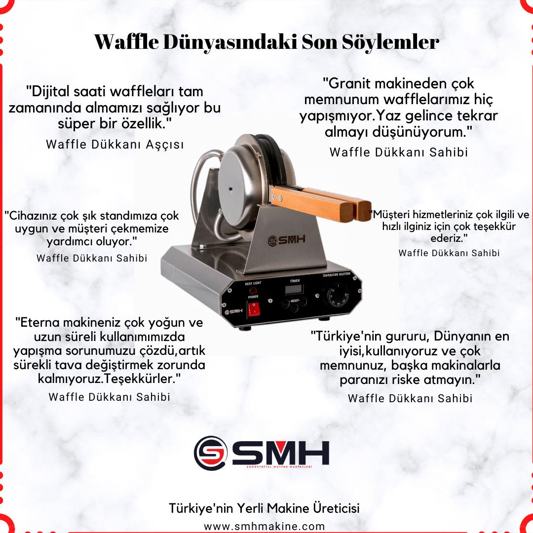 smh bubble waffle makinesi referanslar